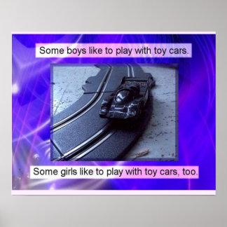 Historia juguetes del pasado coches poster