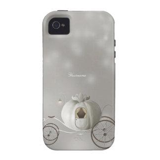 Historia linda de Cenicienta Case-Mate iPhone 4 Carcasa