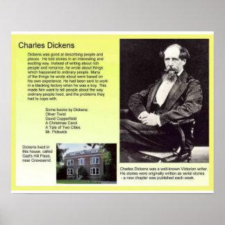 Historia, literatura, Dickens, Charles Dickens Póster