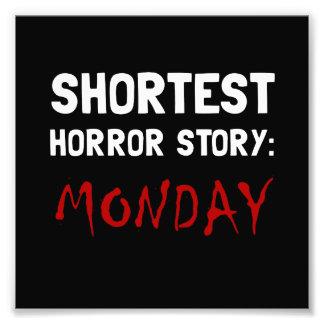 Historia lunes del horror cojinete