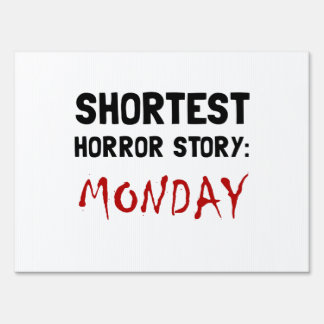 Historia lunes del horror señales