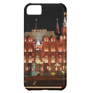 historia-museo-Kremlin-noche-vista-ancho-lleno---. Funda Para iPhone 5C