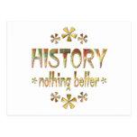 HISTORIA nada mejor Postal
