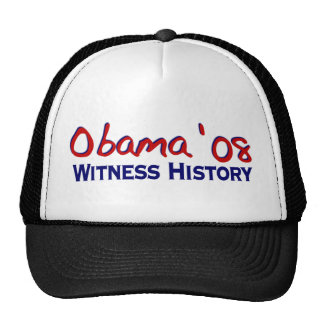 Historia Obama 08 del testigo Gorro