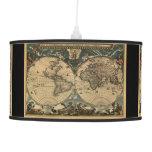 Historia-piel de ante del mapa de Viejo Mundo del
