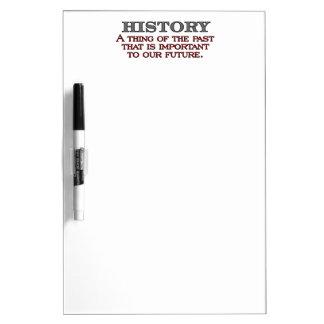 Historia Pizarras Blancas De Calidad