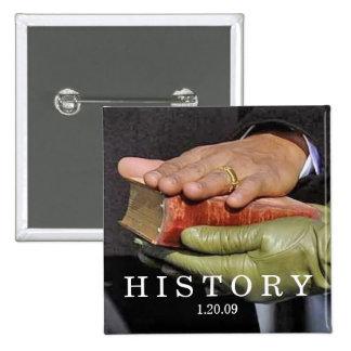 HISTORIA: Presidente Obama Hand en la biblia de Li Pin Cuadrada 5 Cm