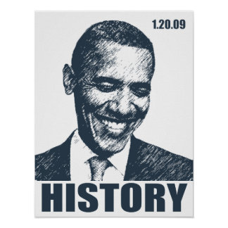 HISTORIA - presidente Obama Inauguration Impresiones