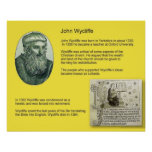 Historia, reforma, Juan Wycliffe Posters