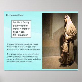 Historia, Roma antigua, familias Poster