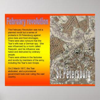 Historia, Rusia, revolución de febrero de la polít Póster