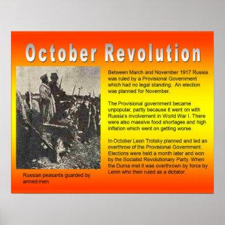 Historia, Rusia, revolución de octubre de la polít Póster