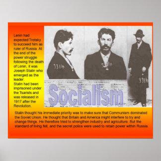 Historia, Rusia, socialismo de la política Póster