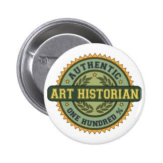 Historiador de arte auténtico pins