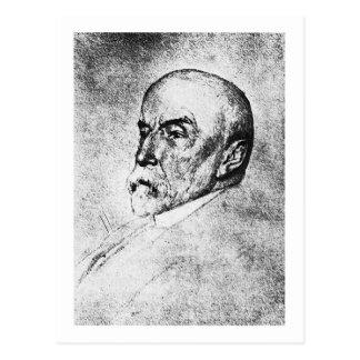 Historiador del escritor de Henry Adams del ~ de A Tarjeta Postal