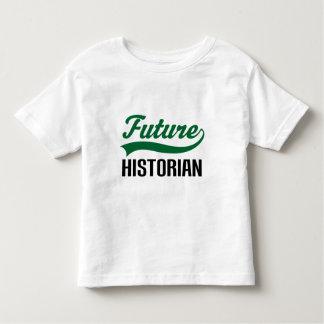 Historiador futuro playera de bebé