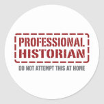 Historiador profesional pegatinas