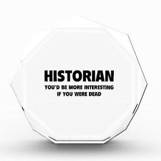 Historian Acrylic Award
