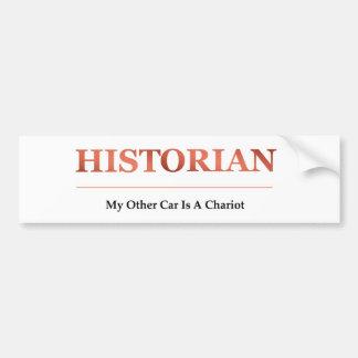 Historian Bumper Sticker