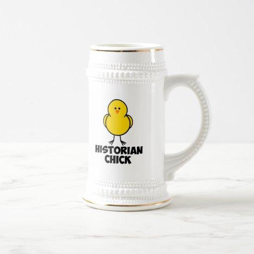 Historian Chick Beer Stein