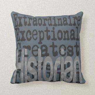 Historian Extraordinaire Throw Pillow