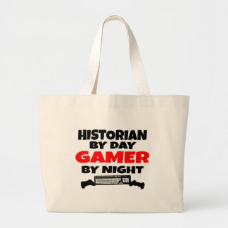 Historian Gamer Jumbo Tote Bag