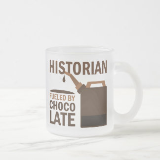 Historian Gift 10 Oz Frosted Glass Coffee Mug