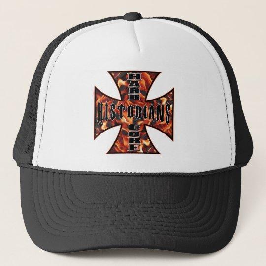 Historian Hard Core Trucker Hat