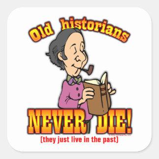 Historians Square Sticker