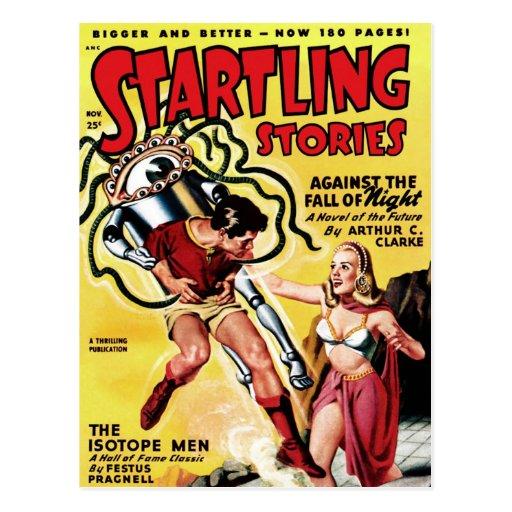 Historias alarmantes - la postal de los hombres de