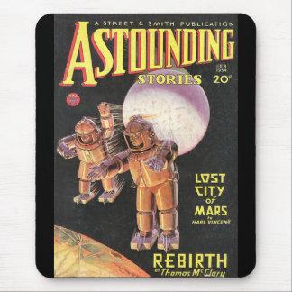 Historias asombrosas cómicas 1934 de Sci Fi del Mousepads