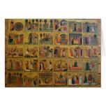 Historias bíblicas del siglo XIV - Verona, Italia Felicitacion