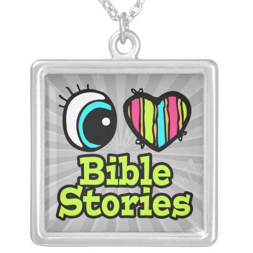 Historias brillantes de la biblia del amor del cor joyerías