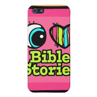 Historias brillantes de la biblia del amor del cor iPhone 5 carcasa