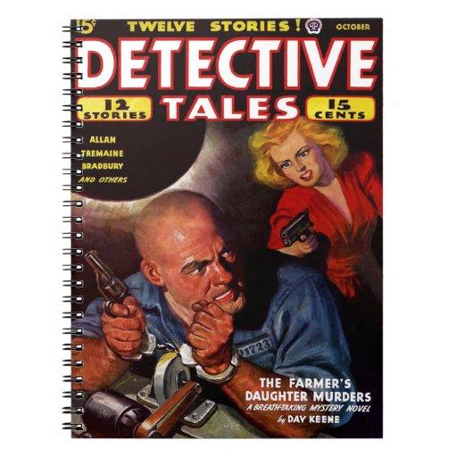 Historias de detectives - el asesinato de la hija  libreta