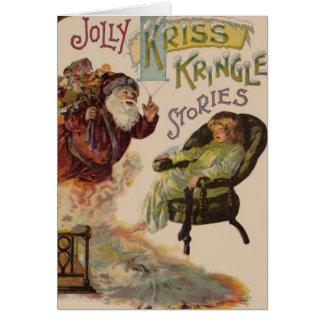 Historias de Kriss Kringle de Santa Tarjeton