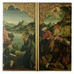 Historias de S.S. Peter y del altarpiece de Paul:  Teja Ceramica