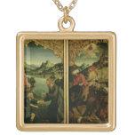 Historias de S.S. Peter y del altarpiece de Paul:  Collares