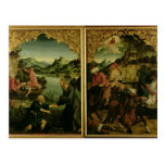 Historias de S.S. Peter y del altarpiece de Paul: Postal