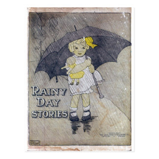 Historias del día lluvioso postales