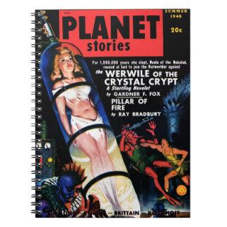 Historias del planeta - el cuaderno de Werwile