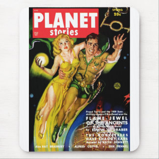 Historias del planeta - joya de la llama de los An Mousepad