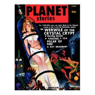 Historias del planeta - la postal de Werwile