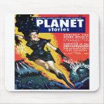 Historias del planeta - la rebelión Mousepad de la Tapete De Ratón