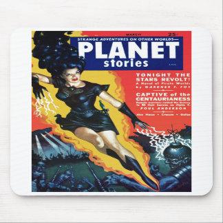 Historias del planeta - la rebelión Mousepad de la