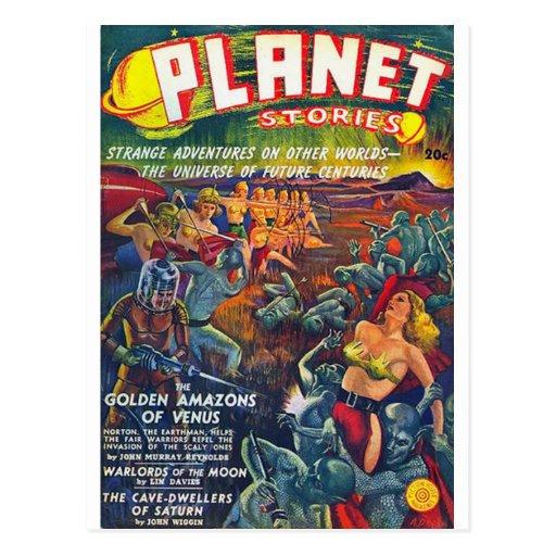 historias del planeta postales