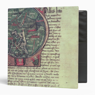 Historiated initial 3 ring binder