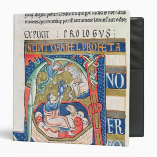 Historiated initial 'A' Depicting Daniel 3 Ring Binders