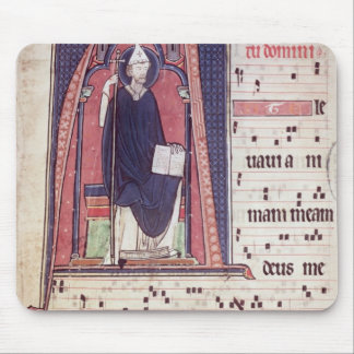 Historiated initial 'A' Mouse Pad