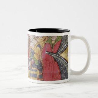 Historiated initial 'B' Two-Tone Coffee Mug